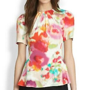 Kate Spade Live Colorfully Tulip Blouse/Top 10